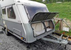 Beladen-Caravan