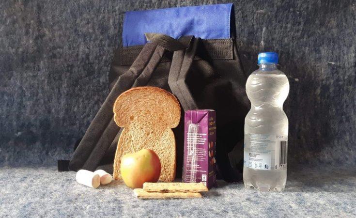 Lunchpakket-Auto