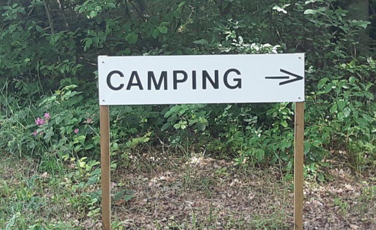 Nudisten-Camping