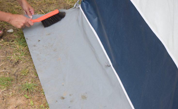 Schoonmaken-Tent