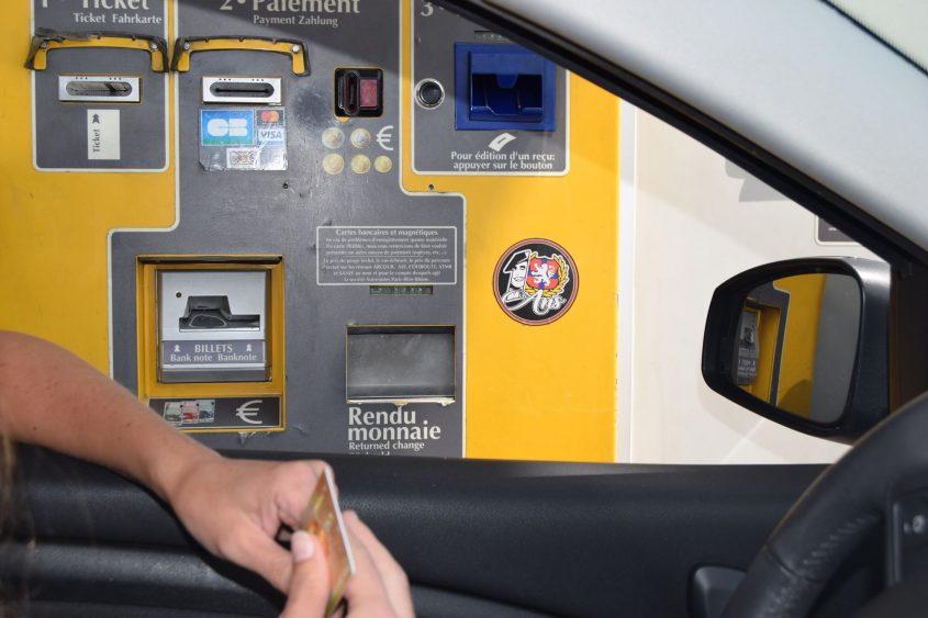 Tol-Automaat-Frankrijk