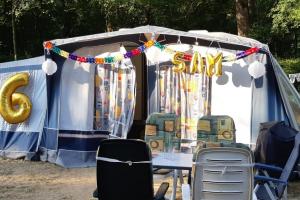 Kind-jarig-camping