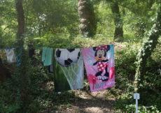 Waslijn-kamperen